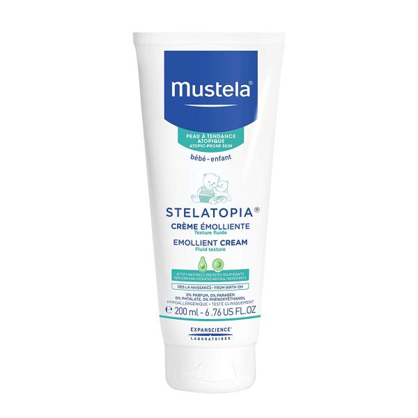 Buy Mustela Stelatopia Emollient Baby Cream, New Packaging, 6.76 Fl Oz Singapore