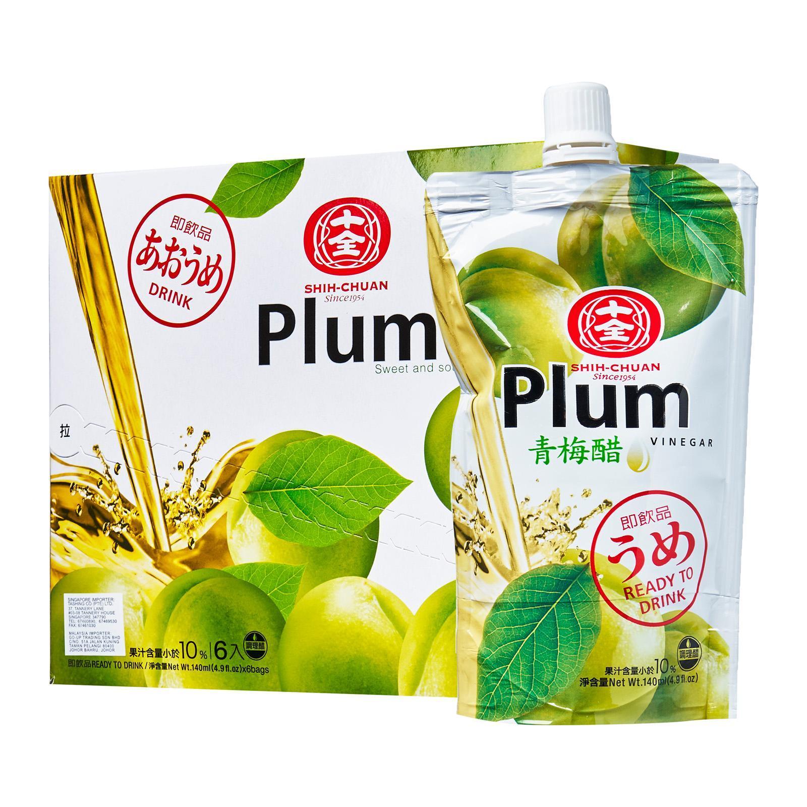 Shih Chuan Plum Vinegar Drink (Pack Of 6)