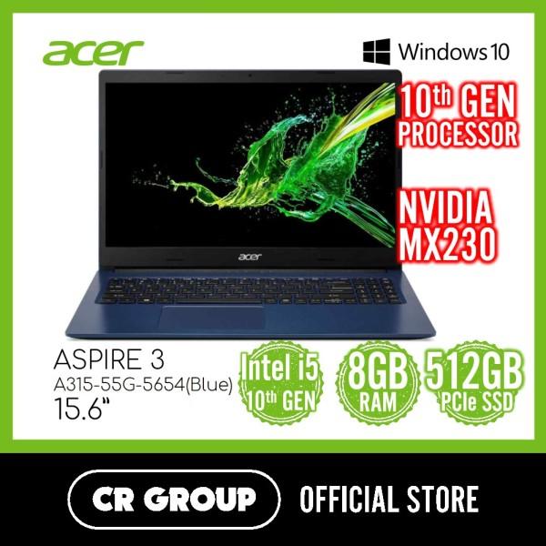 Acer Aspire 3 A315-55G-5654 15.6 Inch | 10th 15-10210U | 8GB DDR4 | 512GB PCIe SSD | NVIDIA GeForce MX230 Graphics