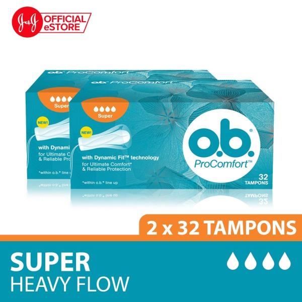 Buy o.b. Tampon Procomfort Super 32s x2pcs Singapore