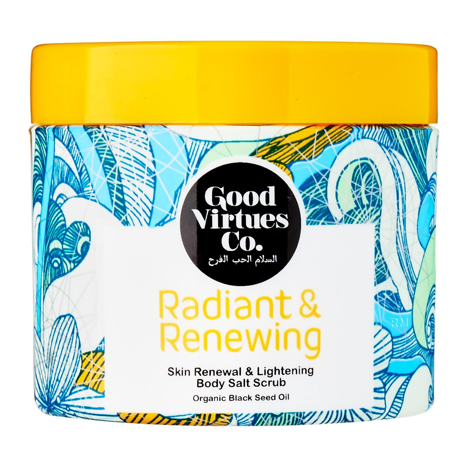 Good Virtues Co. Skin Renewal and Lightening Body Salt Scrub