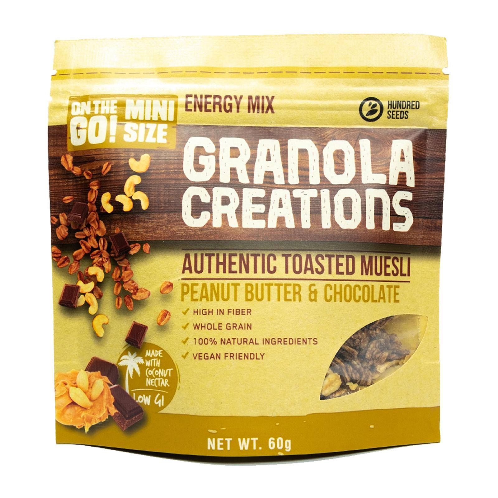 Granola Creations Authentic Toasted Muesli - Peanut Butter And Chocolate - By Sonnamera