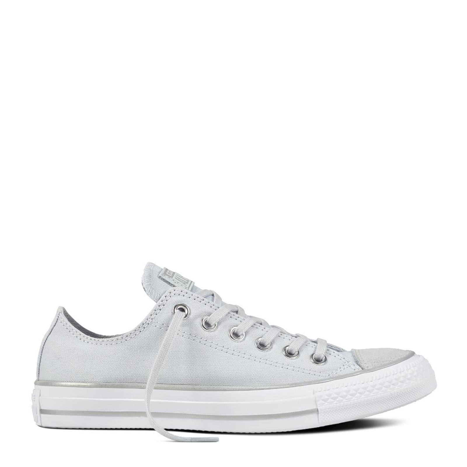 0a9ff68651cc52  SALE  CONVERSE CHUCK TAYLOR ALL STAR - OX - PURE PLATINUM SILVER