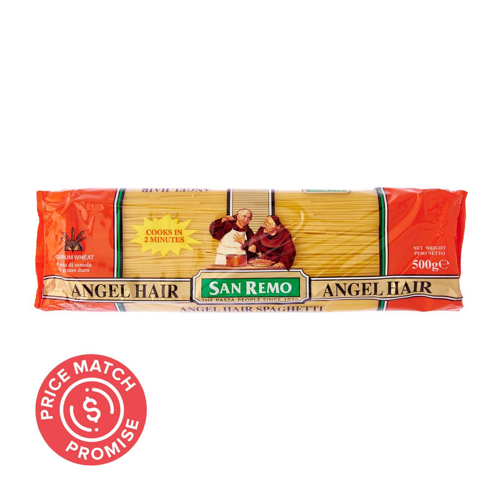 San Remo Pasta Angel Hair Spaghetti No. 9