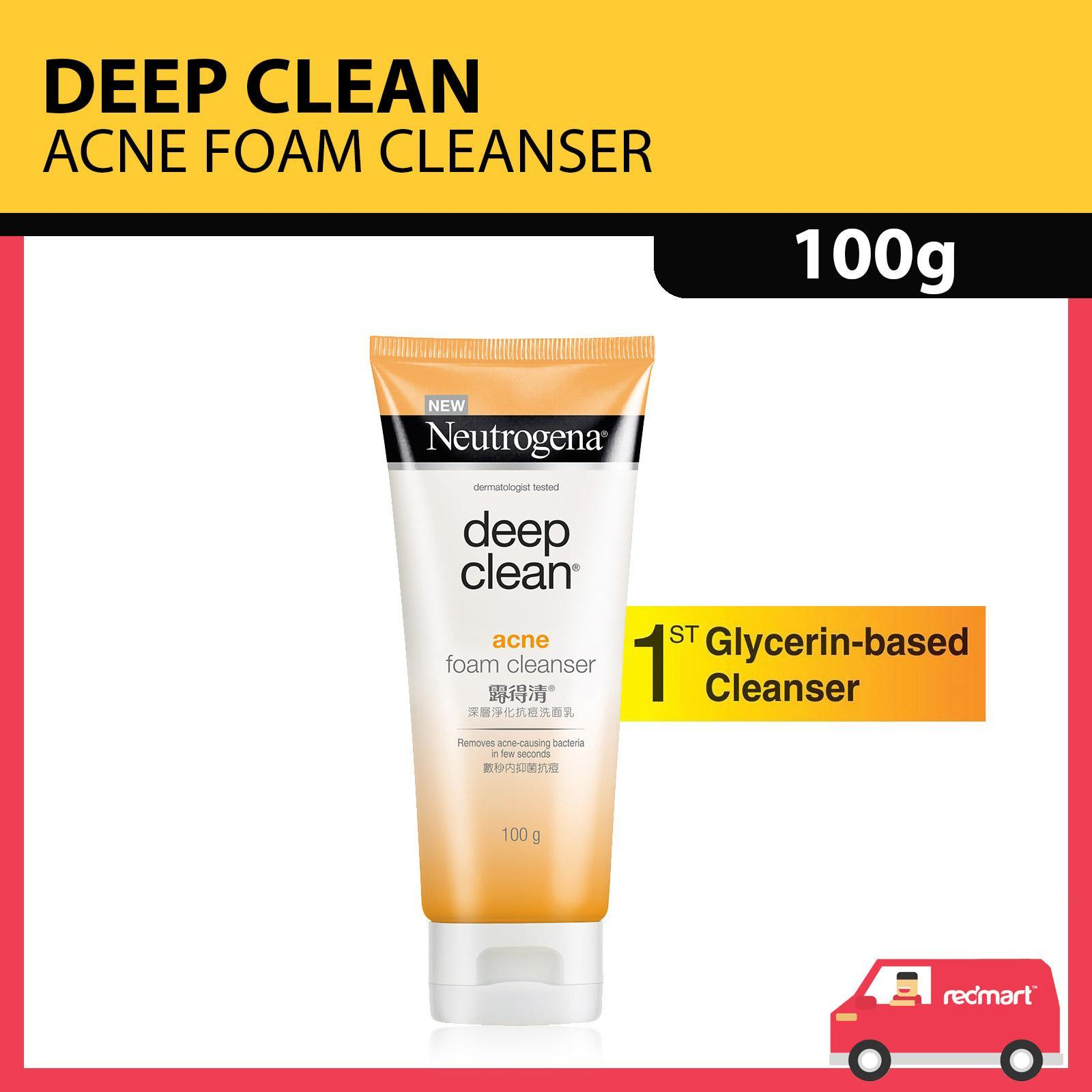 NEUTROGENA  deep clean® acne foam cleanser 100g