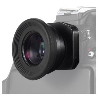 1.51X Fixed Focus Viewfinder Eyepiece Eyecup Magnifier for Canon Nikon Sony Pentax Olympus Fujifilm Samsung Sigma Minoltaz DSLR Camera with 2 Eyepatch thumbnail