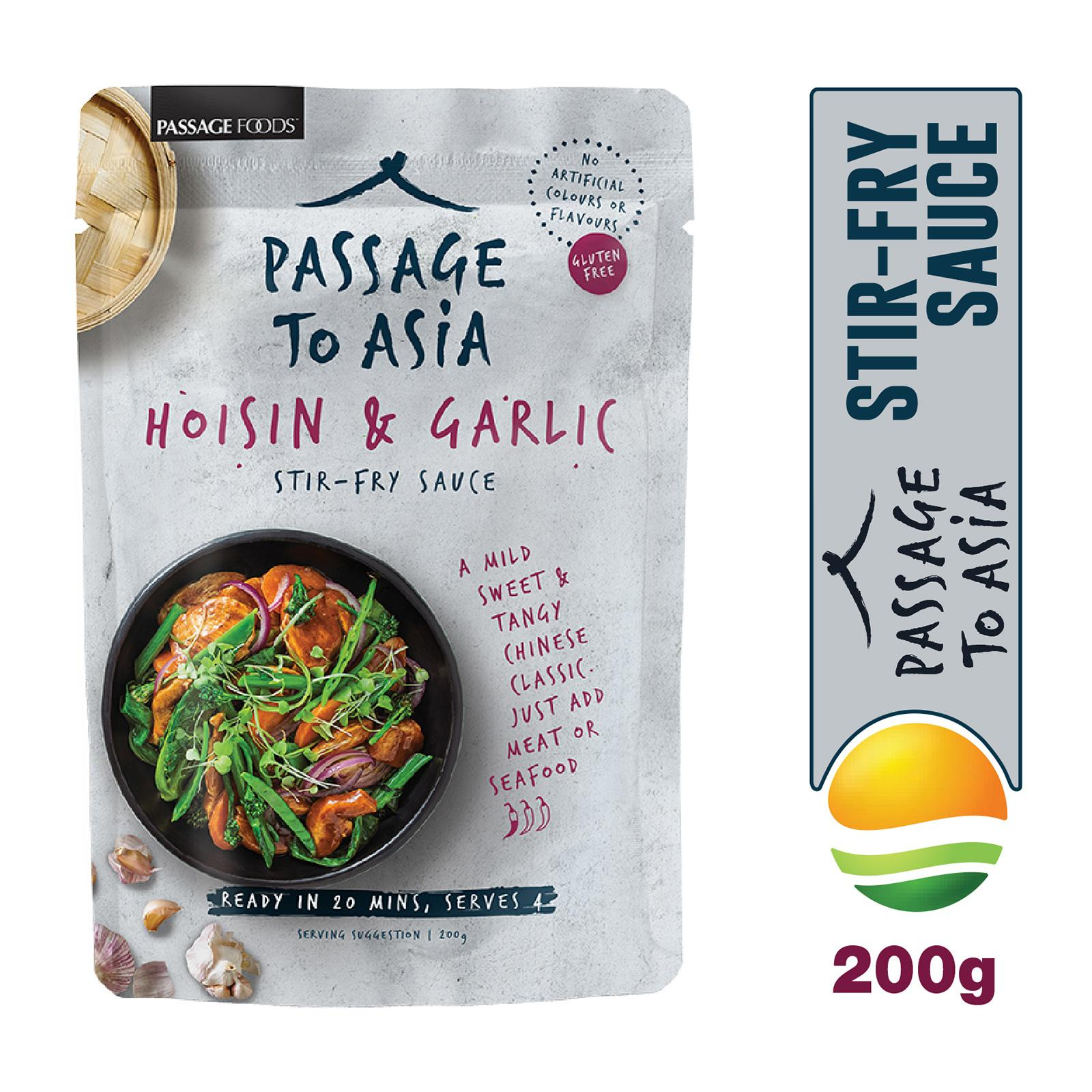 Passage Foods Passage to Asia - Hoisin and Garlic Stir Fry Sauce - By Sonnamera