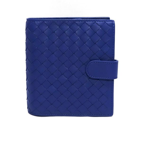 Bottega Veneta Mini Wallet In Cobalt