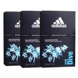 How To Buy Adidas Ice Dive Edt 100Ml X3Bottles