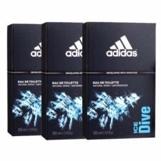 Buy Cheap Adidas Ice Dive Edt 100Ml X3Bottles