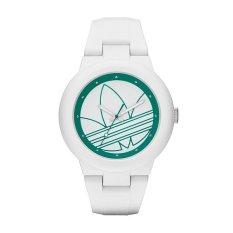 on sale 5c93d 8a775 Adidas Ladies Aberdeen White Silicone Strap Quartz Watch ADH3108