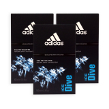 Latest Pack Of 3 Adidas Men Edt Ice Dive Edt Perfume 100Ml 7498