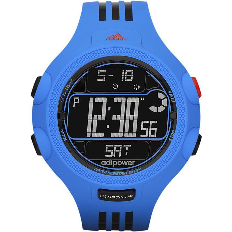 Adidas Unisex Adp3122 Digital Watch Blue