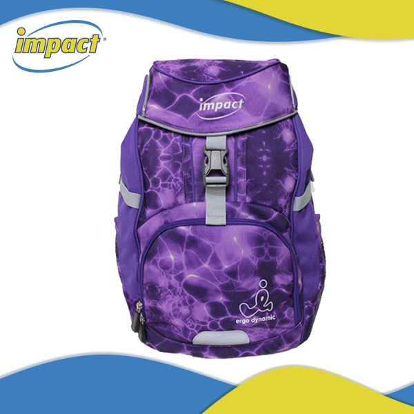 IMPACT Ergonomic School Bag Primary Educational Primary 1 Junior Middle School Bag For Kids Backpack (IPEG-226), 100% Made in Korea, High Quality Polyester, Patented 3D Airy Light Back-Care System