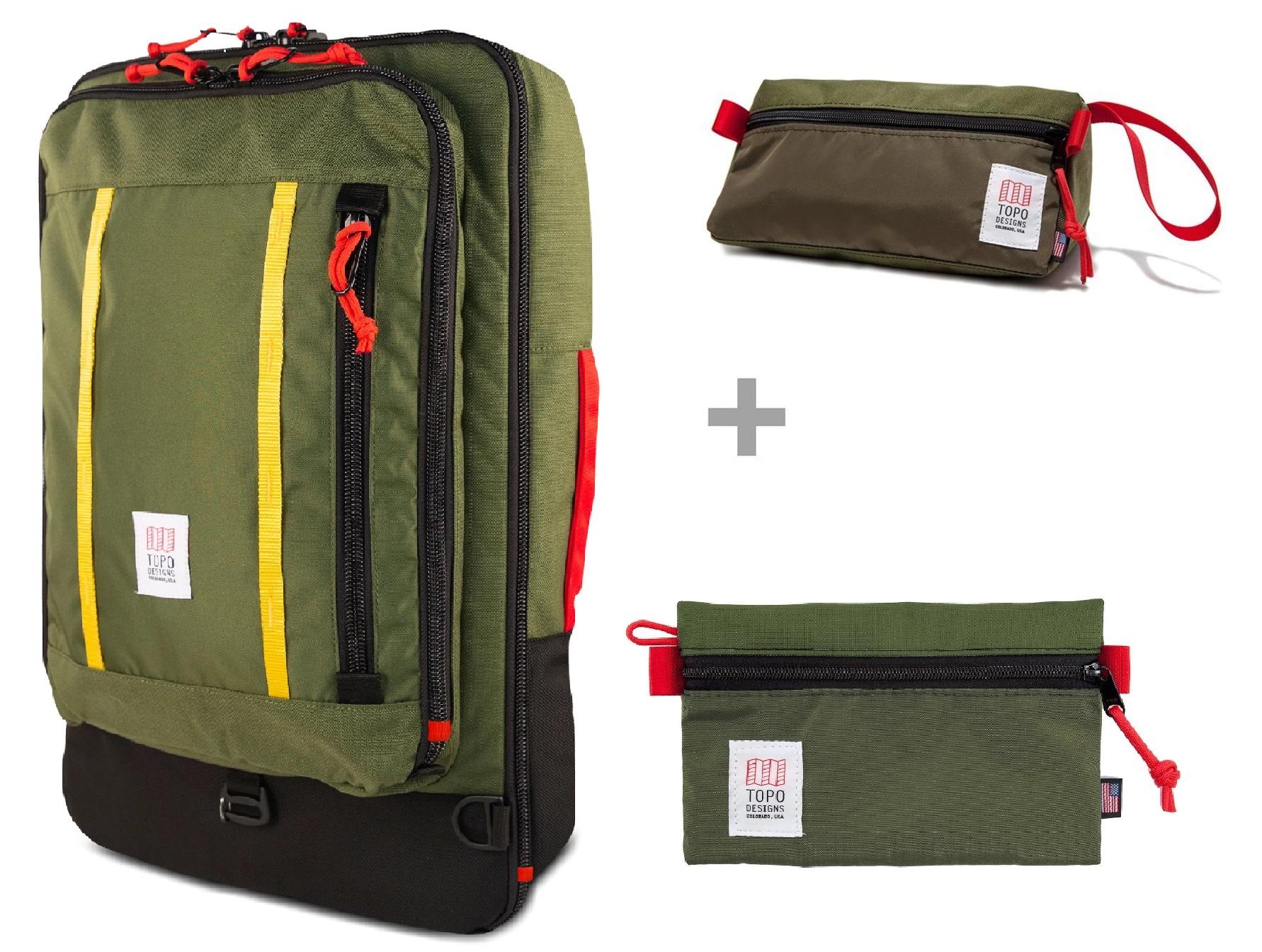 TOPO DESIGNS Escape Travel Bag Kit - 40L