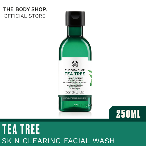 Buy The Body Shop Tea Tree Skin Clearing Facial Wash (250ML) Singapore
