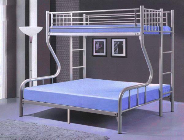 [A-STAR] SINGLE+QUEEN  Metal Bunk Bed Frame