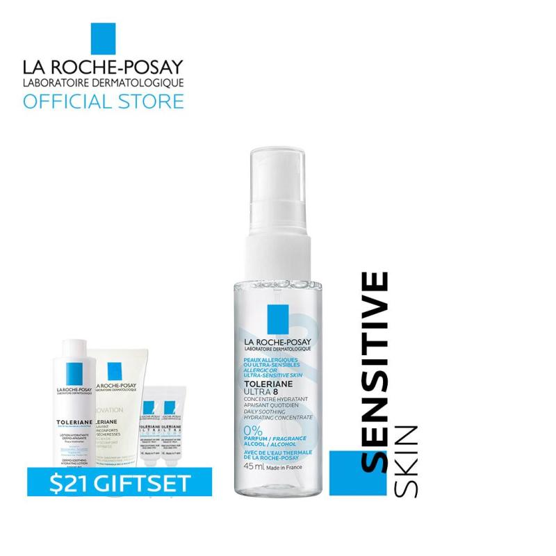 Buy [11.11 Exclusive - 12AM to 2AM] La Roche-Posay Toleriane Ultra 8 Mist 45ml + samples Singapore