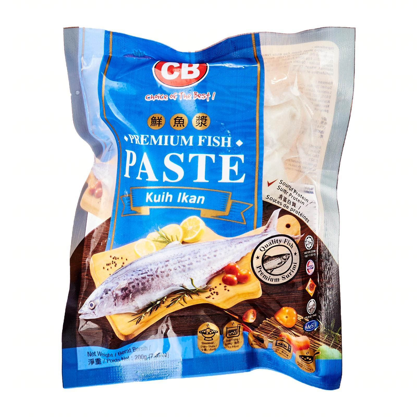 Cb Premium Fish Paste - Frozen By Redmart.