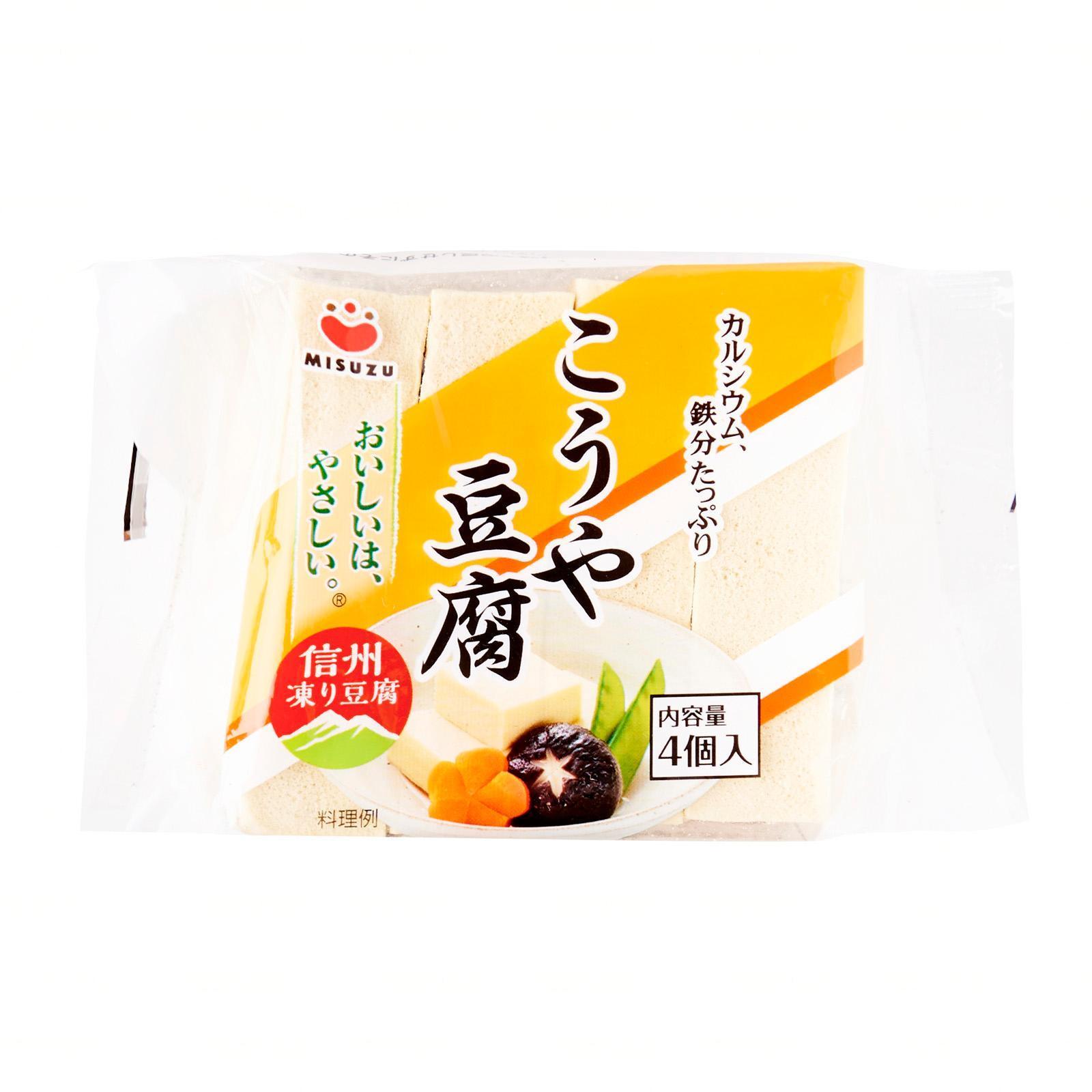 Misuzu Traditional Style Kouya Freeze Dried Tofu (Beancurd)