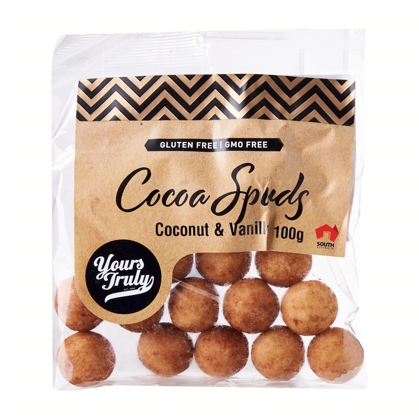 Yours Truly Coconut And Vanilla Cocoa Spuds Gluten Free By Redmart.