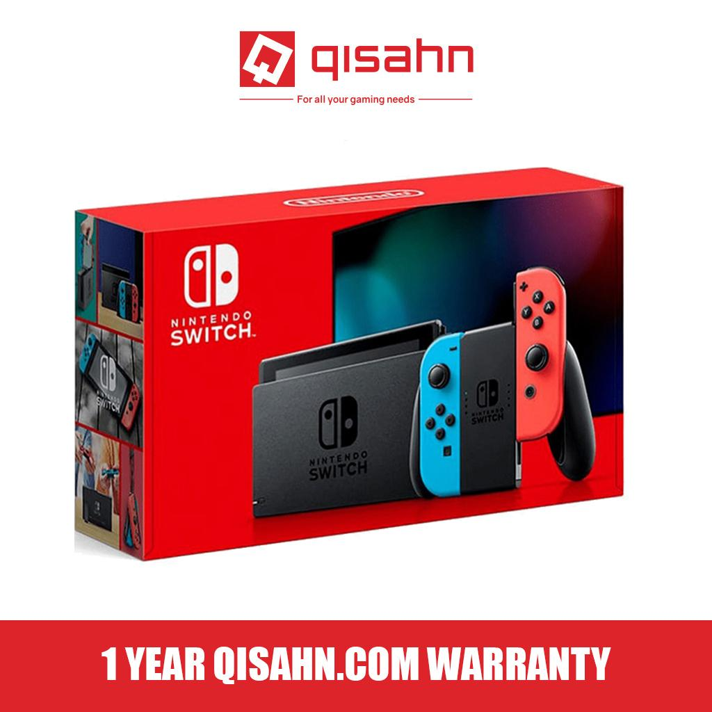 Nintendo Switch Console System Store Warranty Grey or Neon Colour (XKJ  Series, Local Store Warranty) New Model Longer Battery Life