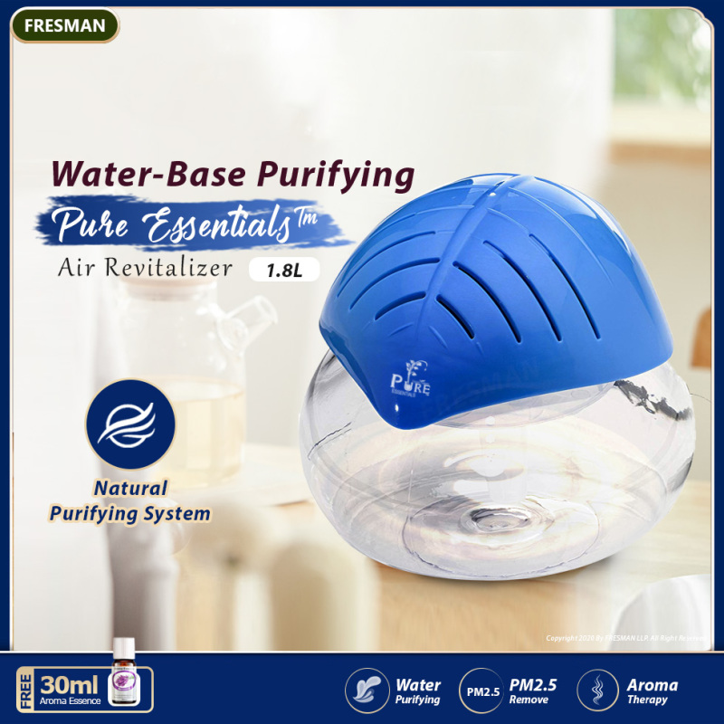 Air Cleaner And Revitalizer 1.8L Water System Aroma Air Purifier Passive Humidifier With Water Base Essential Oil Singapore
