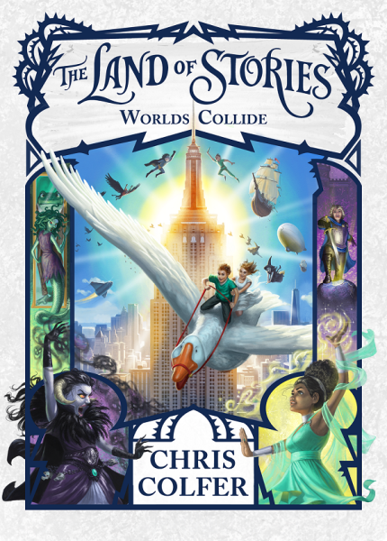 Land Of Stories 6: Worlds Collide / English Young Adult Books / (9780316355889)