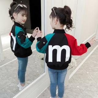 Bé Gái Áo Da Áo Khoác 2020 Mẫu Mới Mùa Xuân Thu Trẻ Em Phiên Bản Hàn Quốc Cỡ Vừa lớn Trẻ Em Thông Dụng Con Gái Áo Jacket Áo Thủy Triều thumbnail