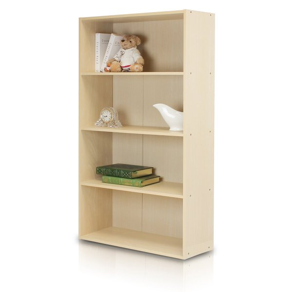 Furinno 11209 Pasir 4 Tier Open Shelf