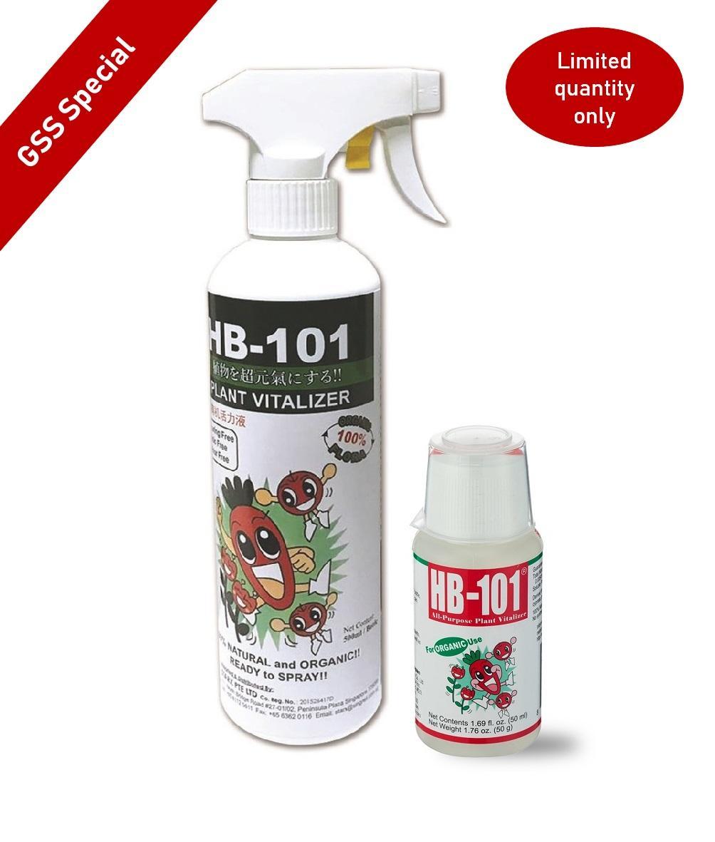 [Bundle] HB101 Natural Plant Vitalizer 50ml + HB101 500ml RTS