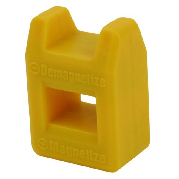 Giá bán Screwdriver Magnetizer Degaussing Demagnetizer Magnetic Practical Pick Up Tool Color:Yellow