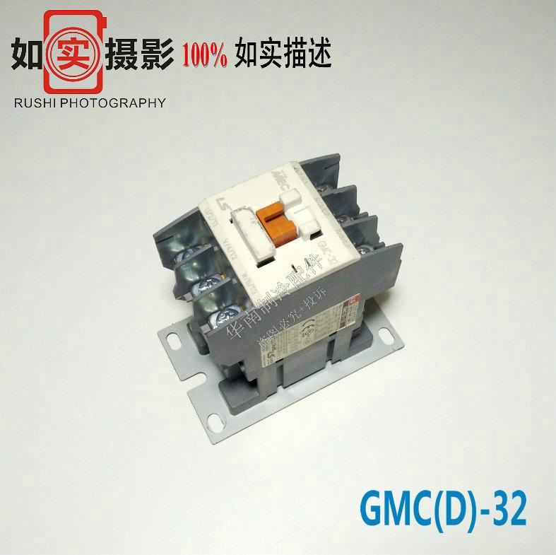 Bongkar Mesin LG Transformasi Frekuensi AC Pusat (LS) Elektromagnetik AC Alat Kontak GMC (D)-32 AC220V