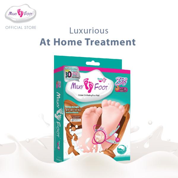 Buy Milky Foot 3D Intense Exfoliating Foot Pad Super 4 (Regular Size) Singapore