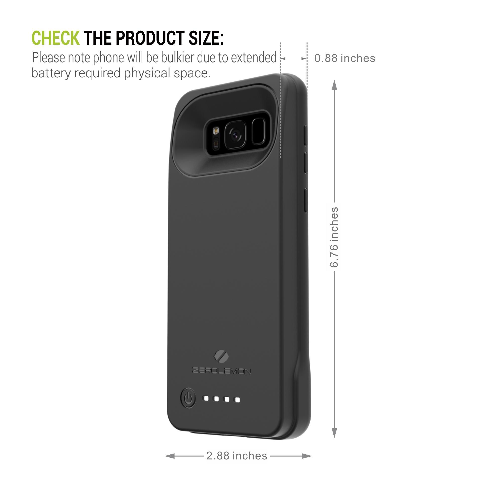 Buy Zerolemon Battery Case   iPhone   Lazada sg