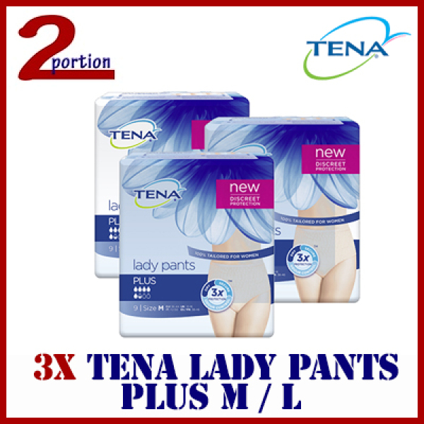 Buy (Bundle of 3) TENA Lady Pants Plus M / L Singapore