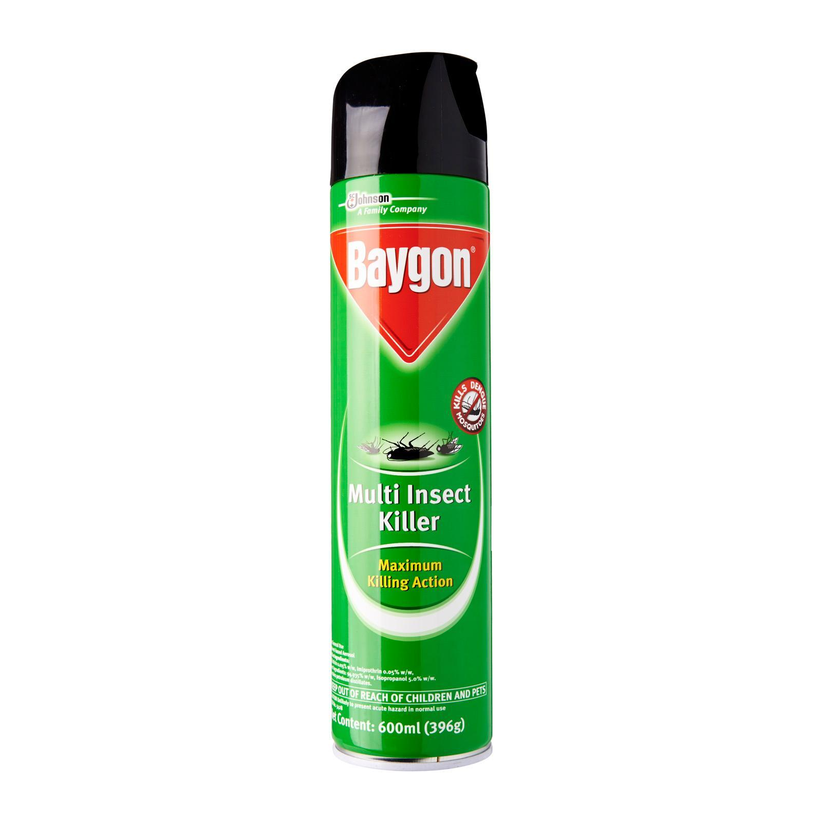 Baygon Multi Insect Killer Spray By Redmart.
