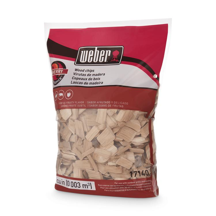 Weber Cherry Wood Chips (1kg) 17140
