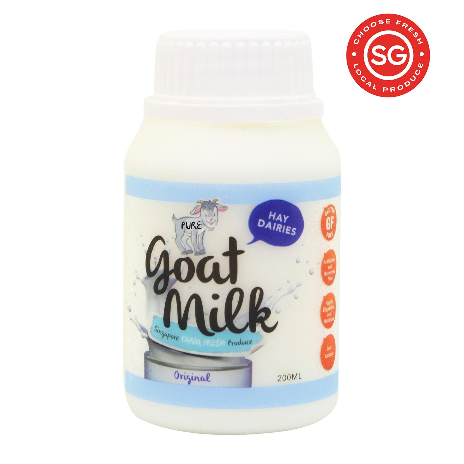 Hay Dairies Goat Milk Original 200ml