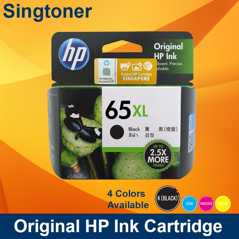 [Original] HP 65XL Black Color Ink Cartridge for HP All-In-One Printers  hp65xl 65 xl DESKJET 2620 / 2621 / 2622 / 2623 / 3720 / 3721 / 3723 / 3724  HP