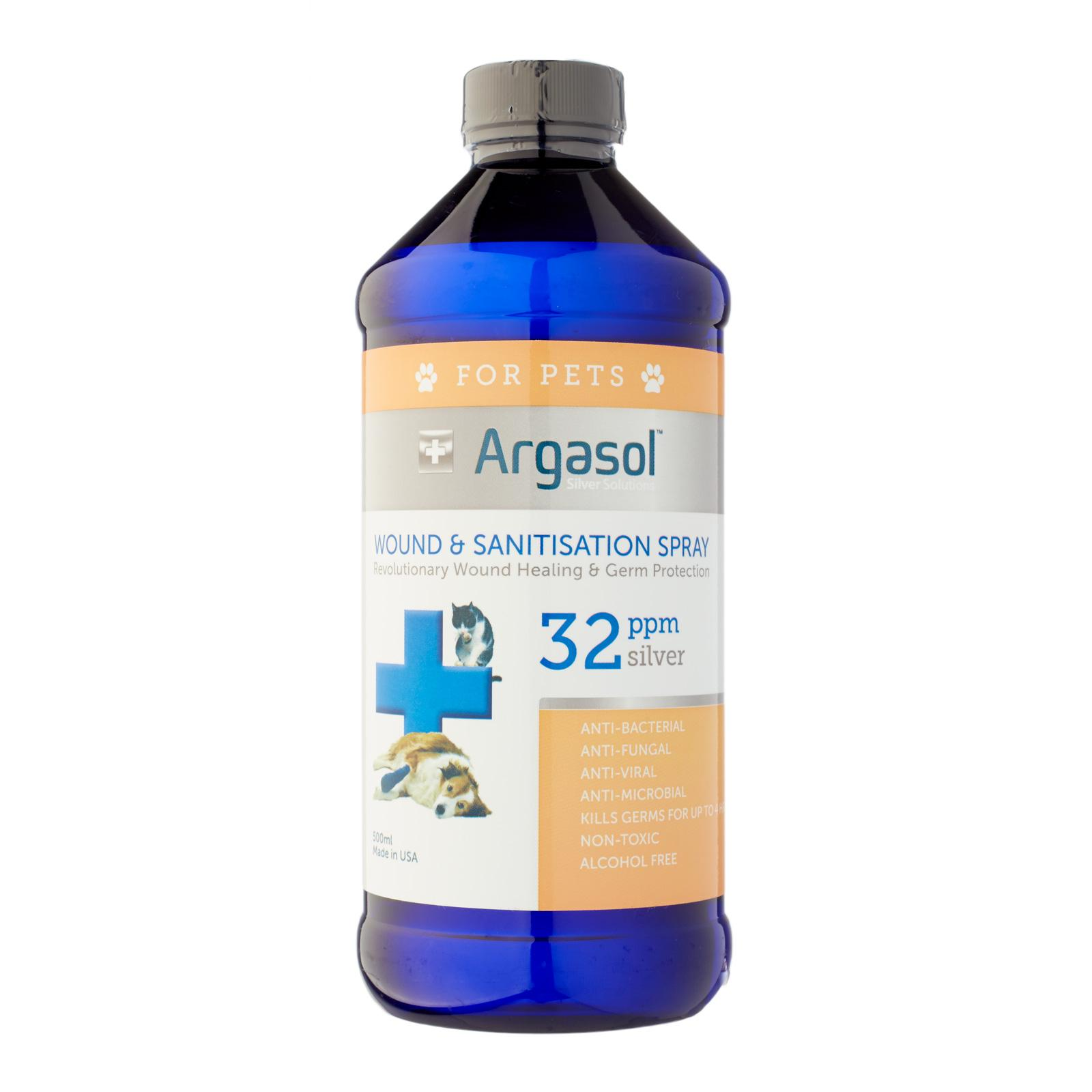 Argasol Pets Silver Spray 32 PPM