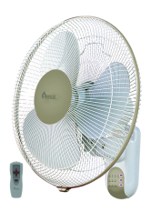 Buy Aerogaz Az 172Wfr Wall Fan With Remote Control And Timer On Singapore