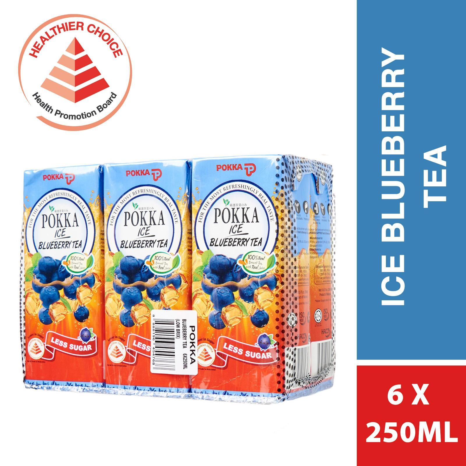 POKKA Ice Lemon Tea 6sX250ml