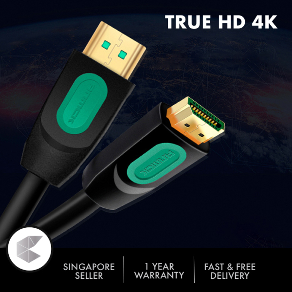 Singapore Ready Stock High Speed 4K HDMI-compatible v2.0 Cable 4K 60HZ with Ethernet 3/5 Meter, HDMI-compatible 2.0 Cable, HDMI-compatible cable 3 meter 5 meter