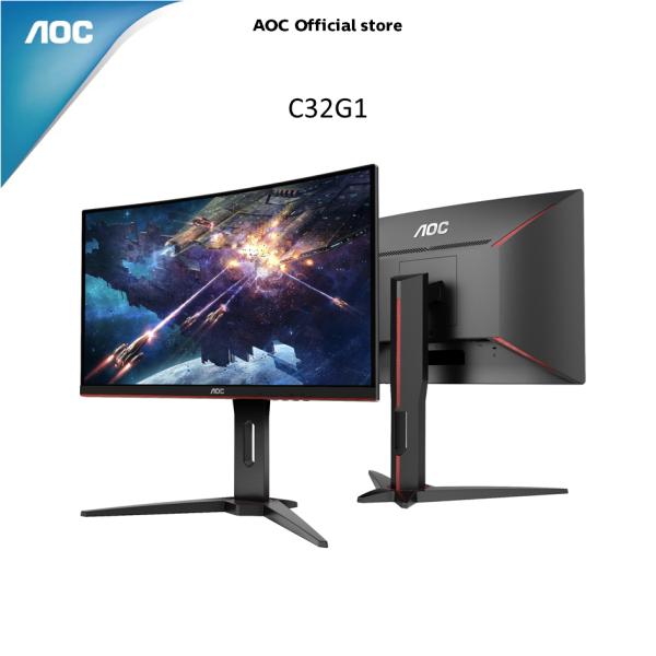 AOC 31.5 inch Full HD 144Hz 1800R LED Gaming Monitor w/ AMD Freesync C32G1