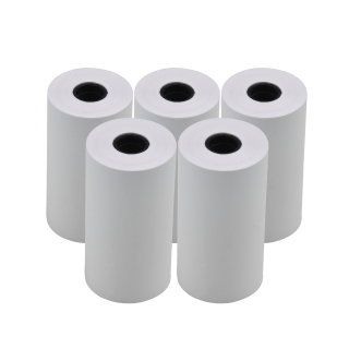10pcs White Blank Thermal Paper Roll 57x30mm 2.17x1.18in Photo Picture Receipt Memo Printing Compatible with Pocket Printer Instant Photo Printer thumbnail