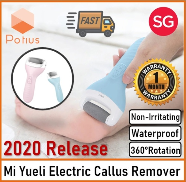Buy [BLUE] Xiaomi Yueli Callus Remover | 360° Rotating High Efficient Cleaner | Foot Dead Skin Remover | Foot File | Callus Remover Singapore