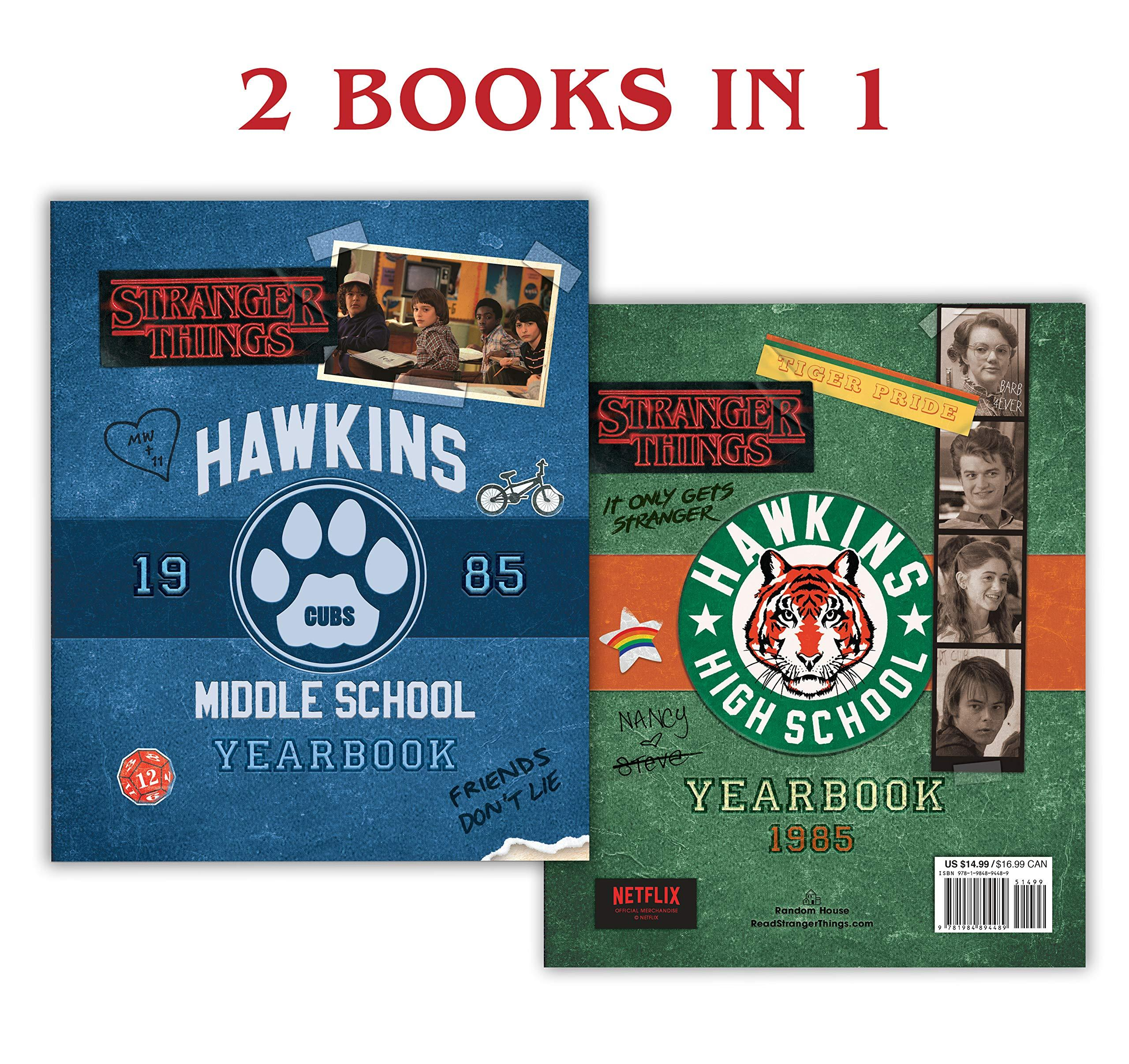 Hawkins Middle School Yearbook/Hawkins High School Yearbook (Stranger Things) by  Matthew J Gilbert