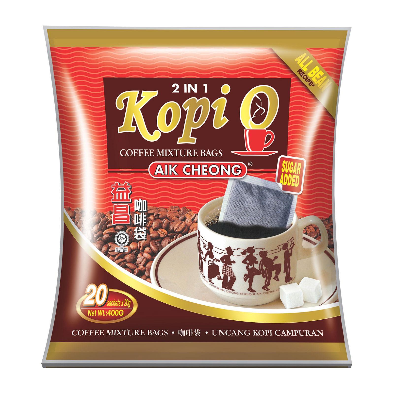 Aik Cheong 2in1 Kopi O sugar added