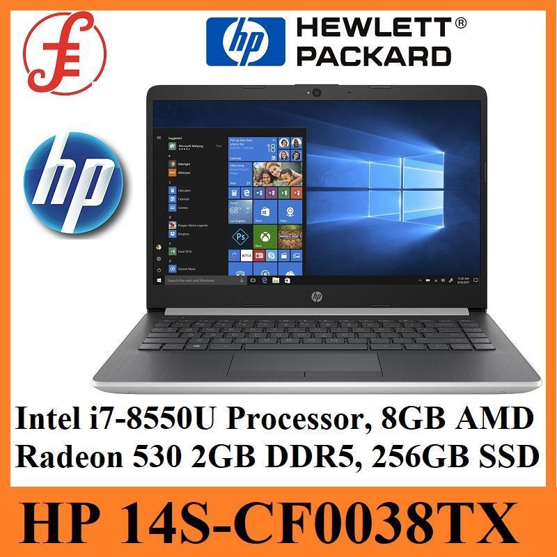 HP 14S-CF0038TX (8th Gen Intel i7-8550U PROCESSPR, 8GB RAM, AMD Radeon 530 4GB GDDR5, 256GB SSD)